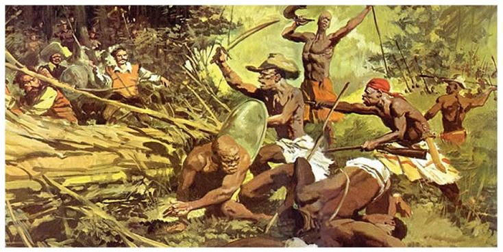 Resultado de imagem para quilombo dos palmares tinha escravos